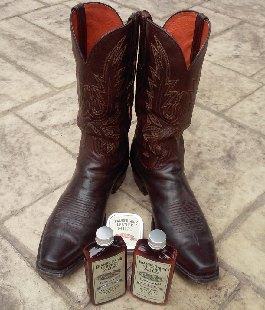 Leather Milk Boot & Shoot Cream After