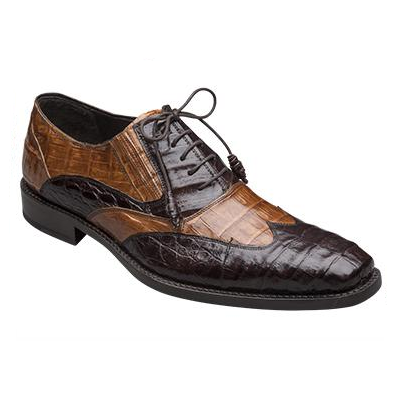 Mezlan Dade Crocodile Shoes