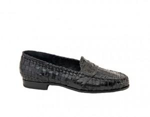 Moreschi Diamante Woven Loafers
