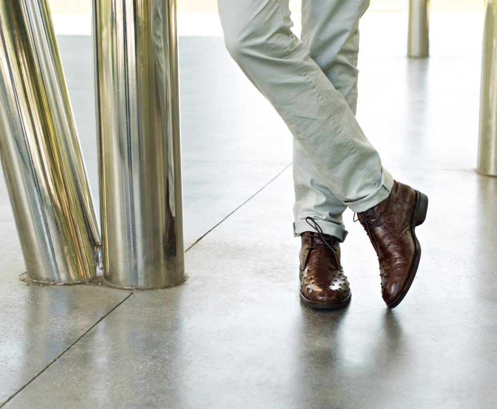 Zelli Marco Ostrich Boots