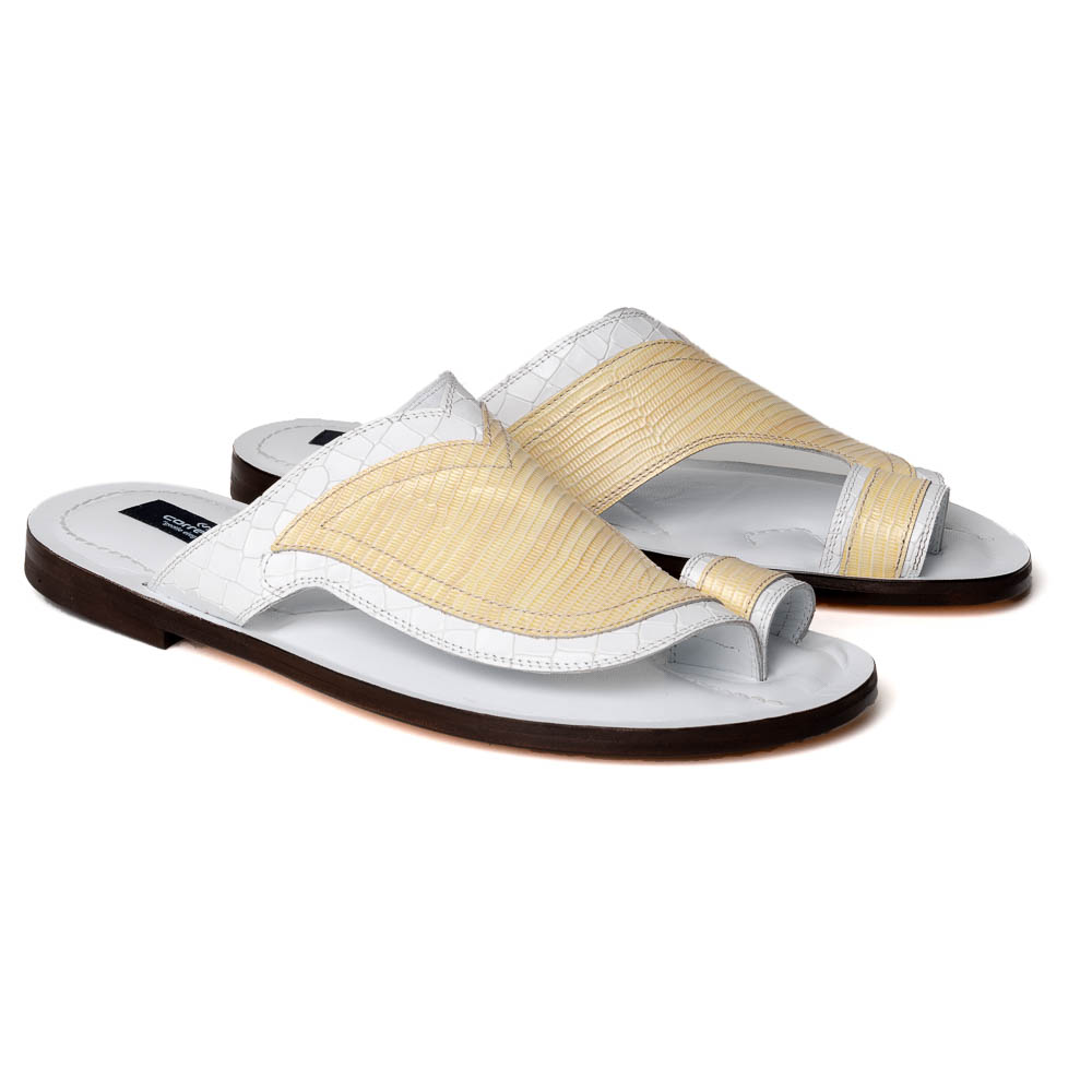 Corrente C006-5831 Sandals White Image