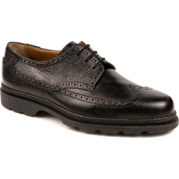 Michael Toschi G2 Wing Tip Golf Shoes Black/Black Image
