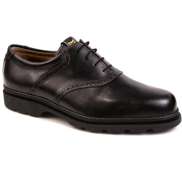 Michael Toschi G1 Saddle Golf Shoes Black Image