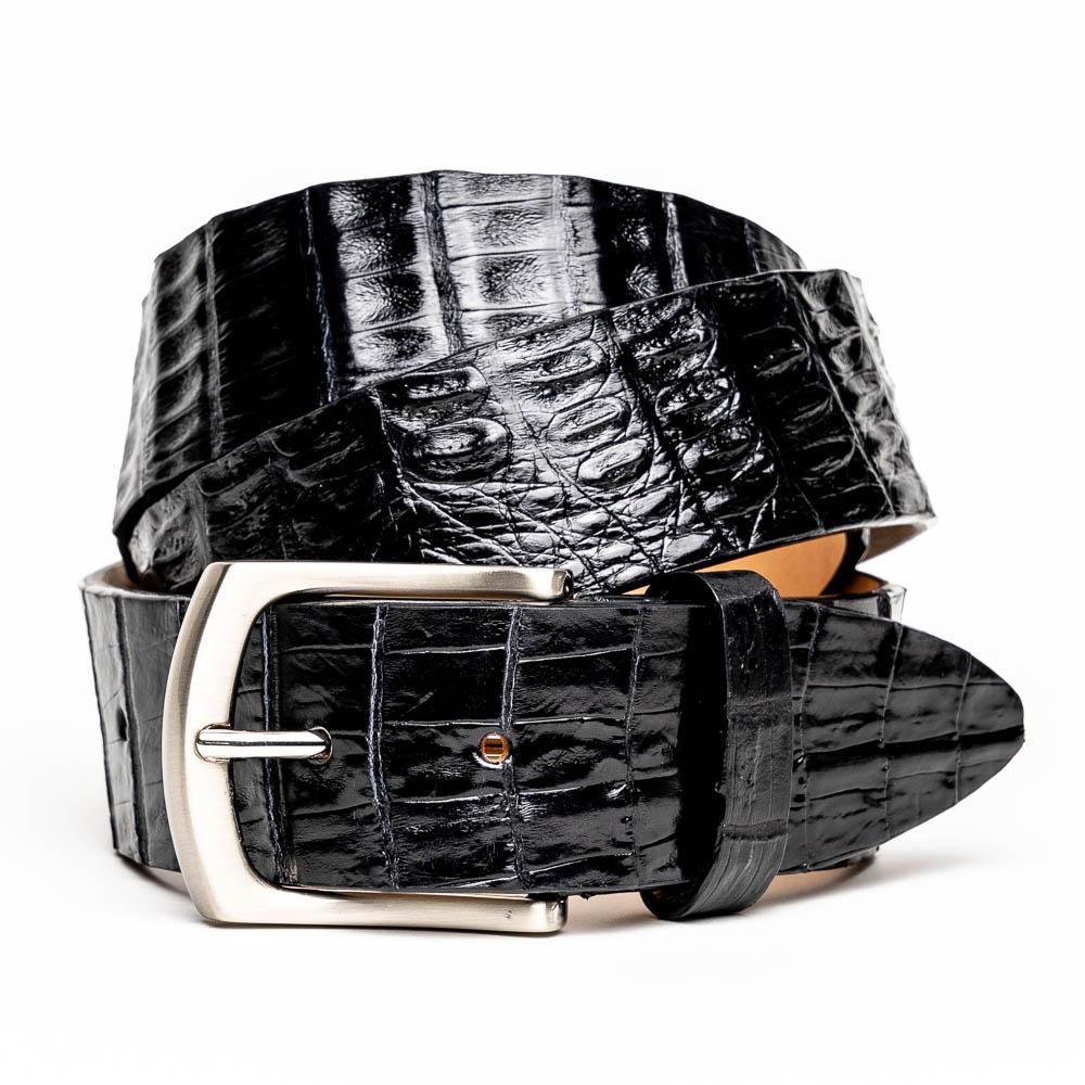 Calzoleria Toscana C4187 Hornback Belt Black Image