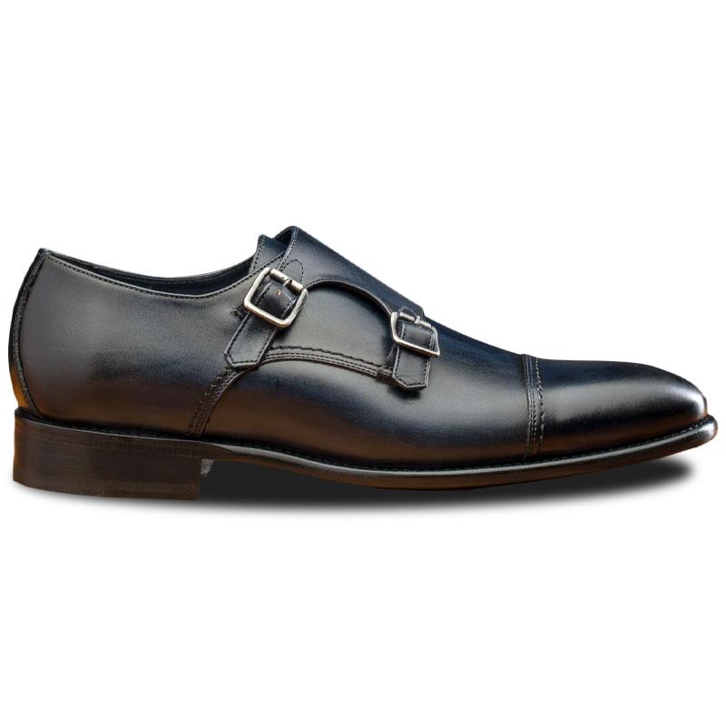 Calzoleria Toscana 6582 Monk Strap Shoes Blue Image