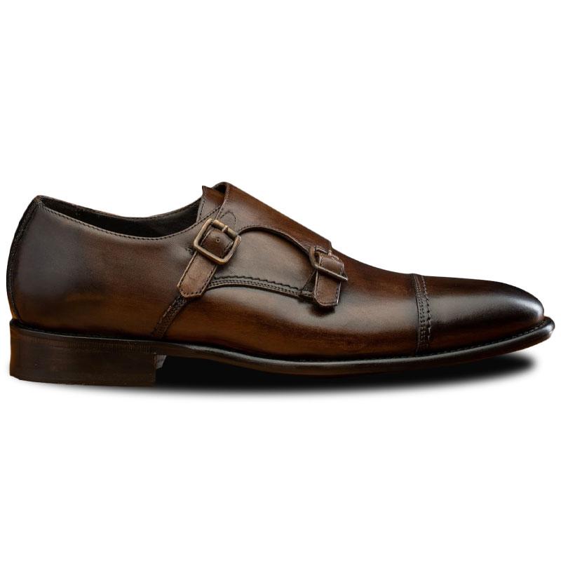 Calzoleria Toscana 6582 Monk Strap Shoes Moor Image