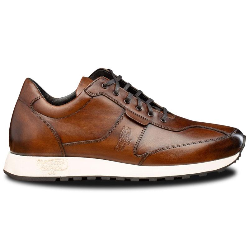 Calzoleria Toscana CTH000 Runner Sneakers Mahogany Image