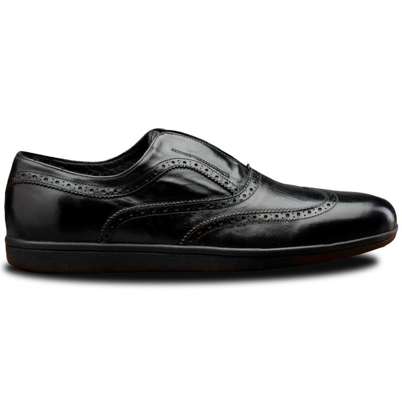 Calzoleria Toscana 7839 Elba Wingtip Sneakers Black Image