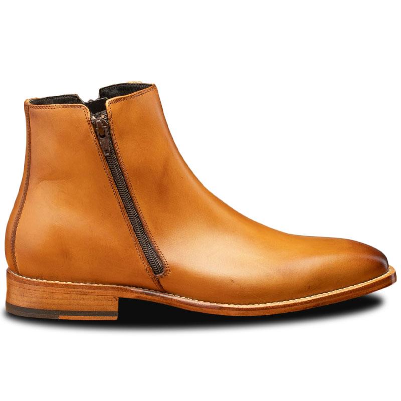 Calzoleria Toscana Q337 Onice Zipper Boots Chester Image