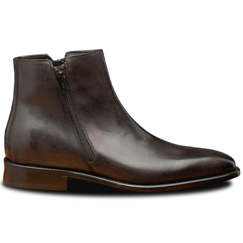 Calzoleria Toscana Q337 Onice Zipper Boots Stone Image