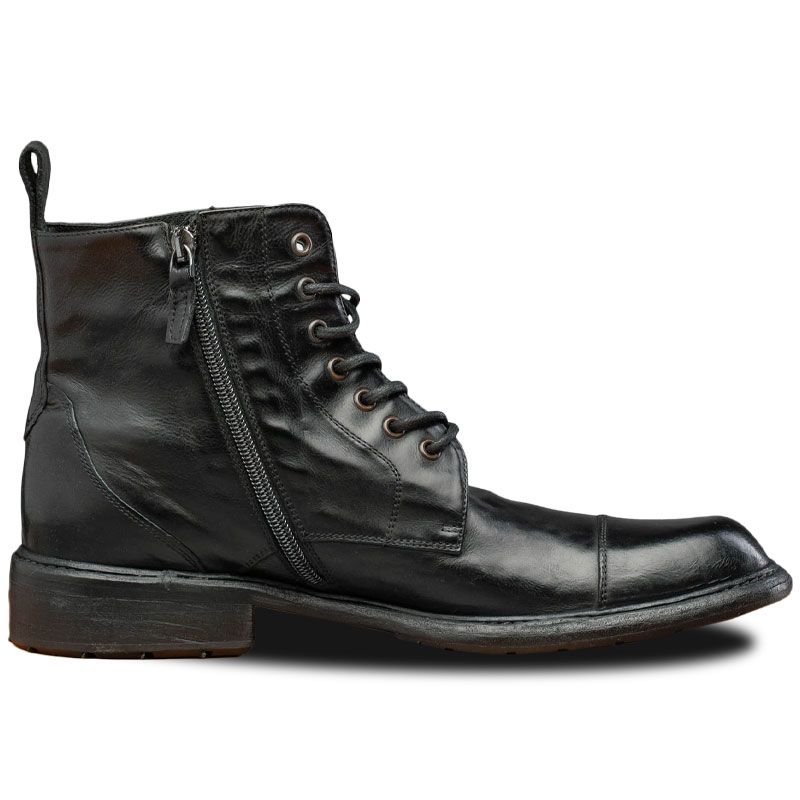 Calzoleria Toscana Q549 Combat Boots Black Image