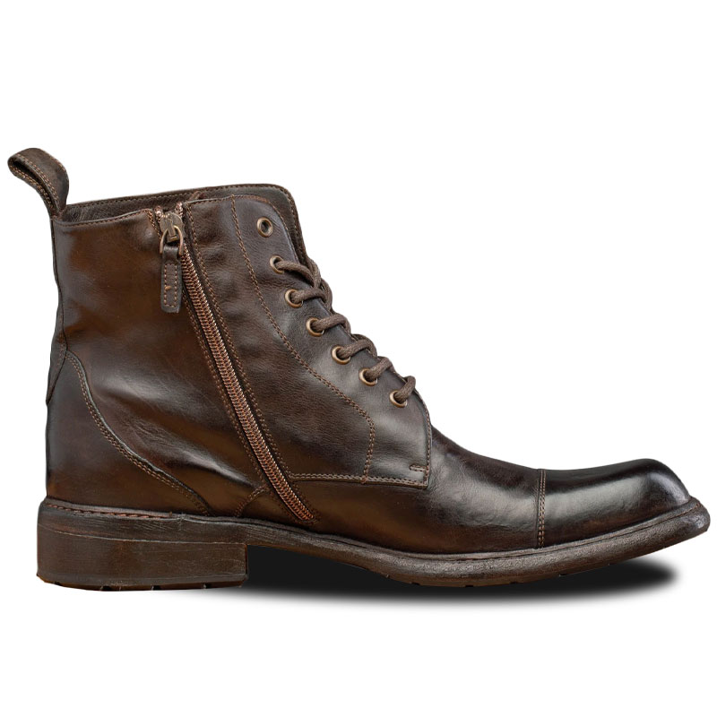 Calzoleria Toscana Q549 Combat Boots Brown Image