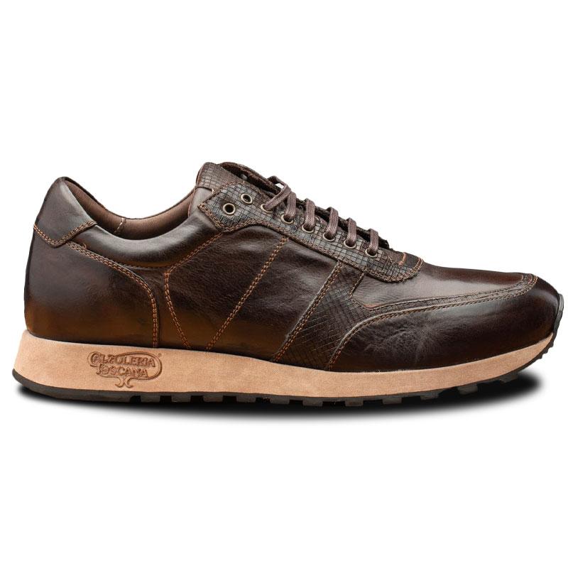 Calzoleria Toscana H703 Sixty Seven Sneakers Dark Brown Image