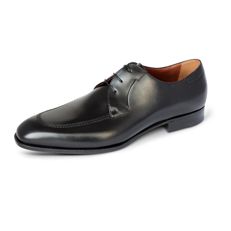 A. Testoni Apron Toe Shoes Black Image