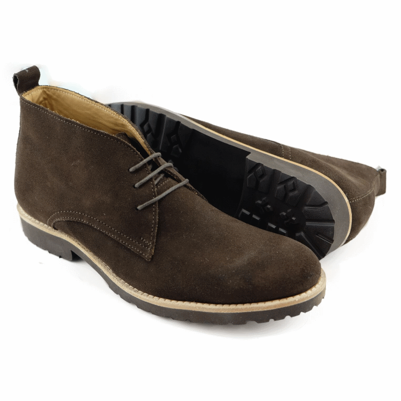 Alan Payne Alex Suede Boots Brown Image