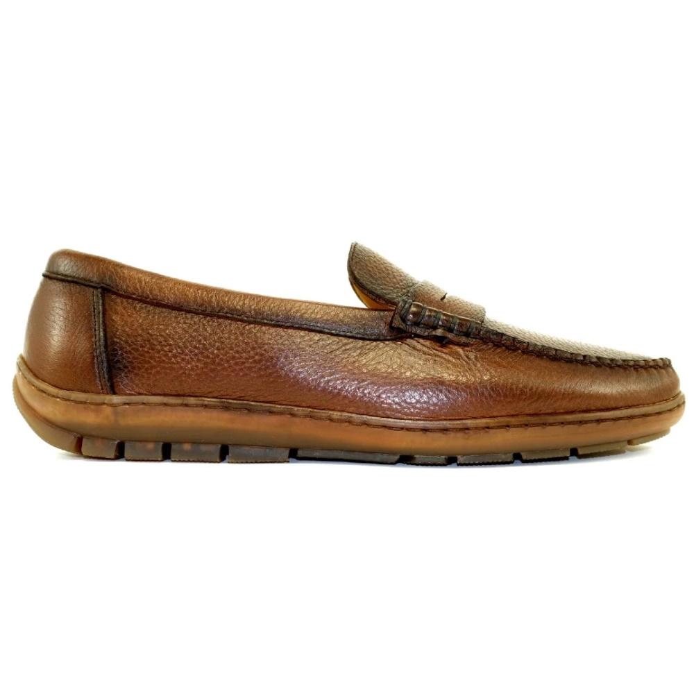 Alan Payne Edmond Driving Shoes Antique Honey Image