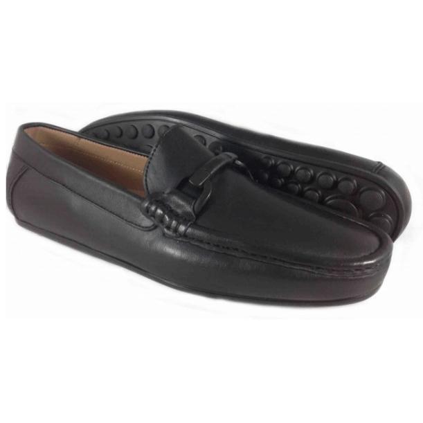 Alan Payne Garda Bit Loafers Black Image