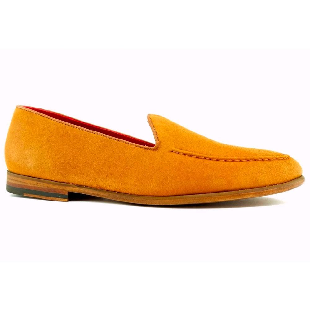 Alan Payne Meyers Suede Loafers Armagnac Image