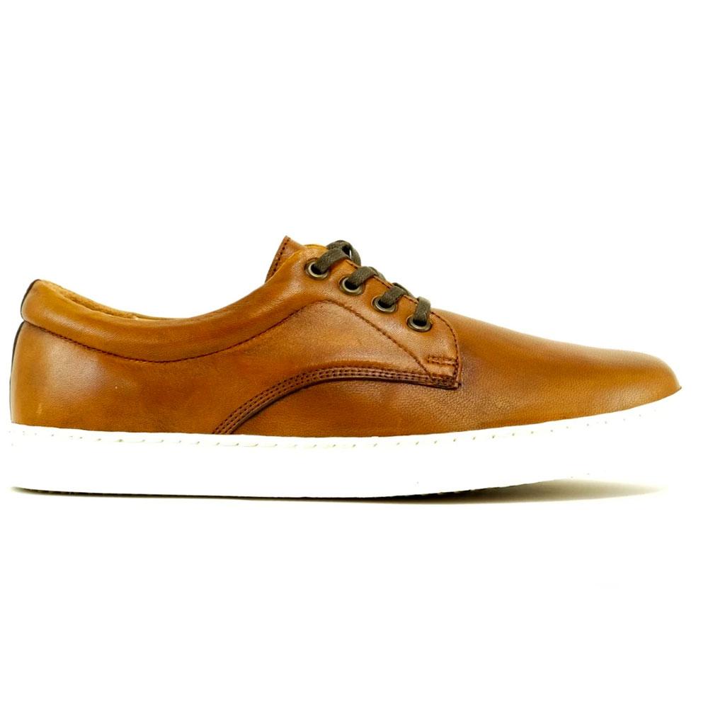 Alan Payne Monty Sheepskin Sneakers Brandy Image