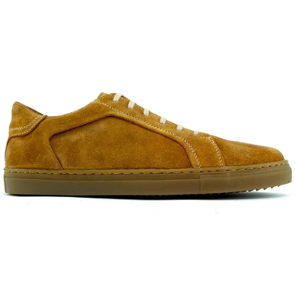 Alan Payne Mystic Suede Sneaker Mushroom Image