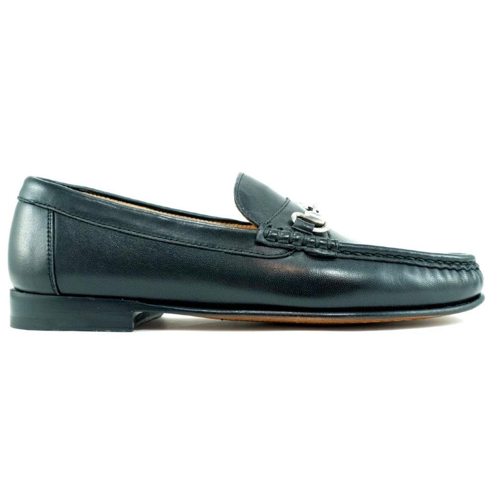 Alan Payne Snaffle Bit Loafers Black Image