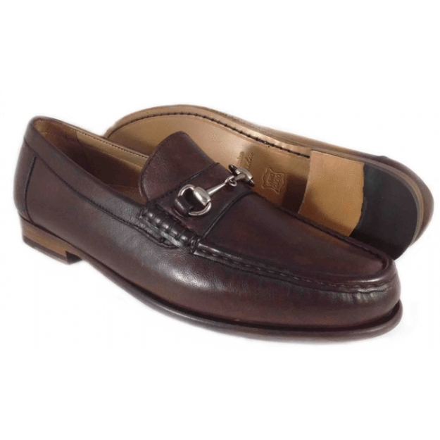 Alan Payne Snaffle Bit Loafers Brown Image