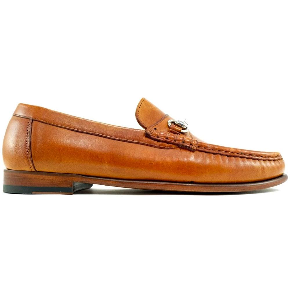 Alan Payne Snaffle Bit Loafers Tan Image