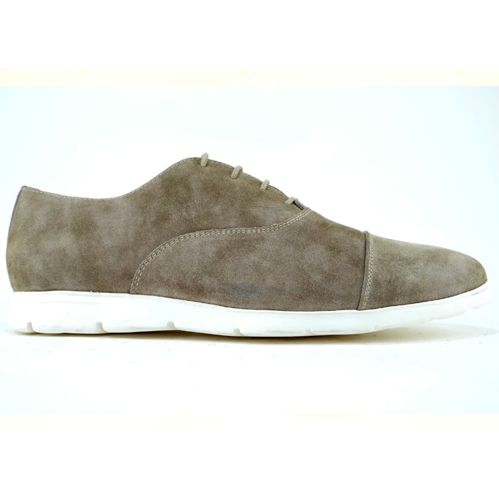 Alan Payne Taylor Suede Sneakers Cement Image