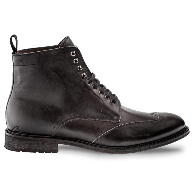 Bacco Bucci Abaka Calfskin Boot Black Image