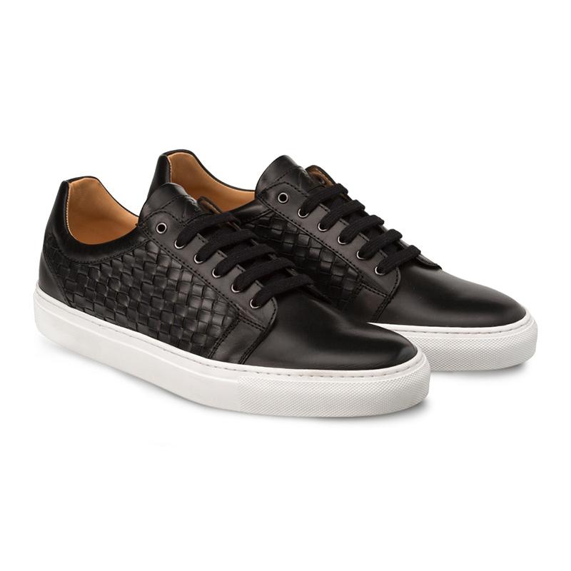 Bacco Bucci Asier Calfskin Sneaker Black Image
