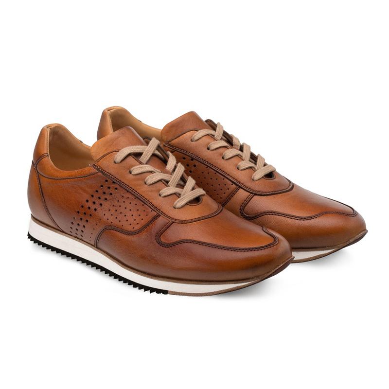 Bacco Bucci Berelli Calfskin Sneaker Tan Image