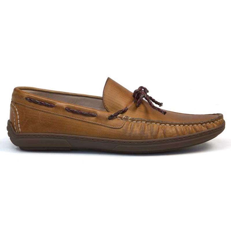 Bacco Bucci Cani Calfskin Shoe Honey Image