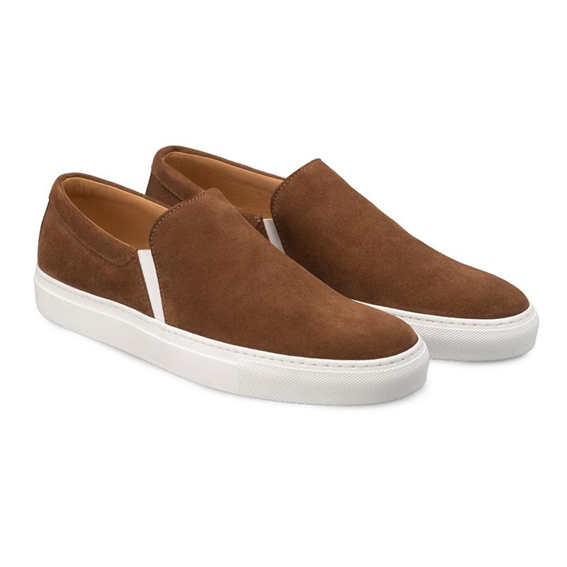 Bacco Bucci Canto Suede Sneaker Tan Image