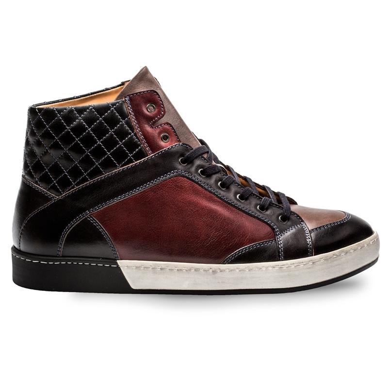 Bacco Bucci Crawford Calfskin Shoe Black Multi Image