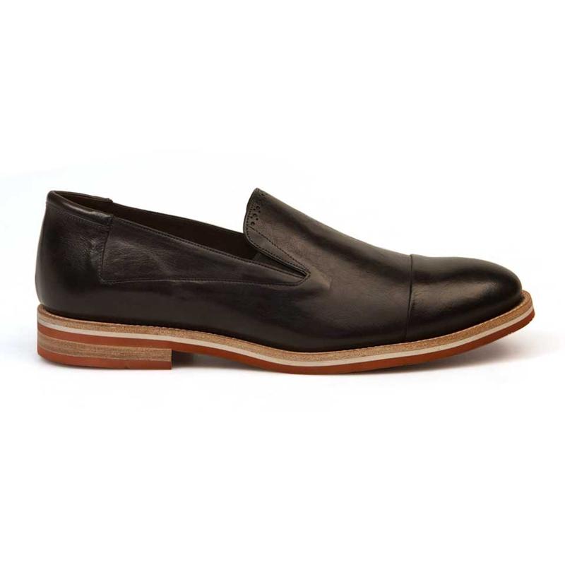 Bacco Bucci Diarra Calfskin Shoes Black Image