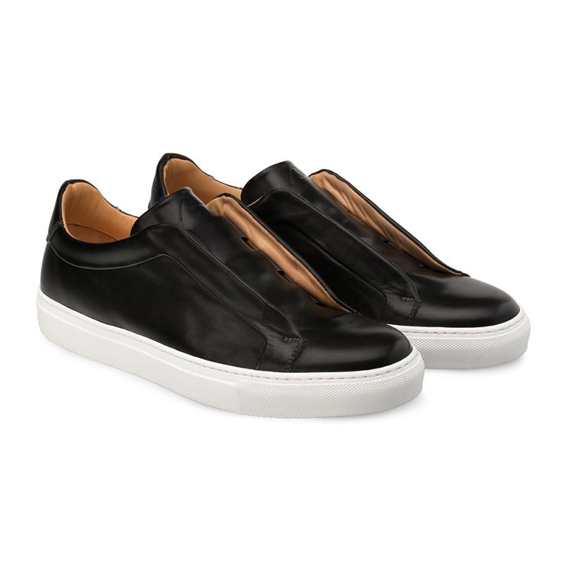 Bacco Bucci Dionisi Calfskin Sneaker Black Image