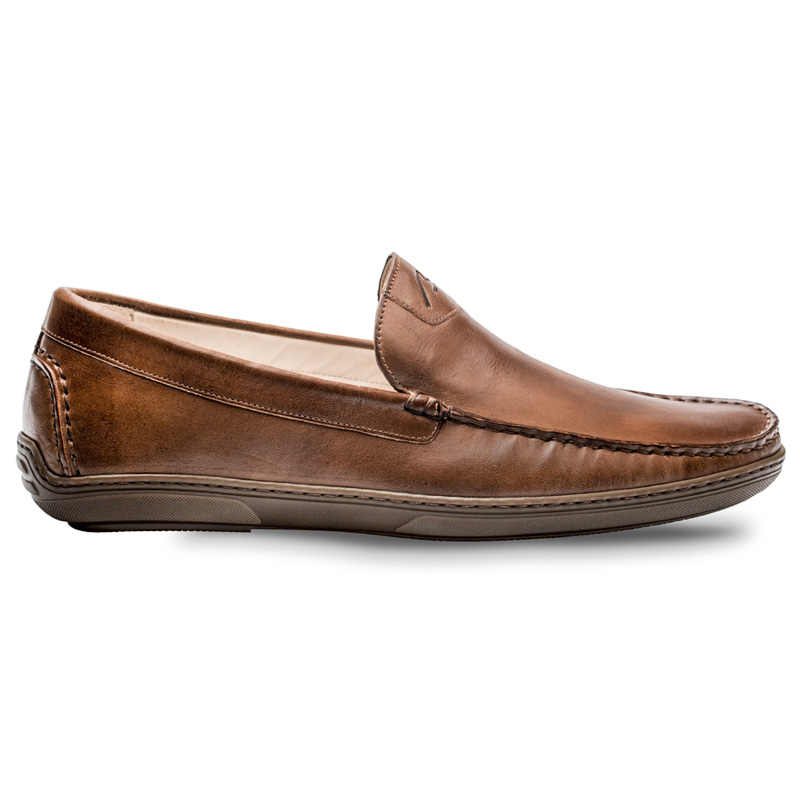 Bacco Bucci Eric Calfskin Shoe Brown Image