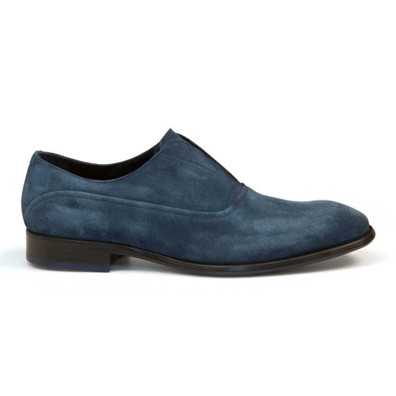 Bacco Bucci Frossi Suede Shoes Jeans Image