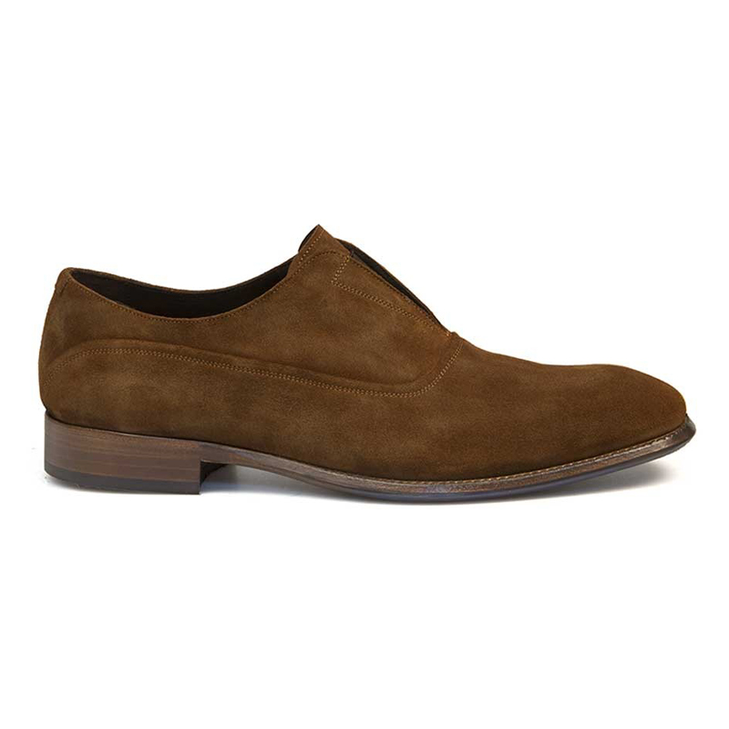 Bacco Bucci Frossi Suede Shoes Tan Image