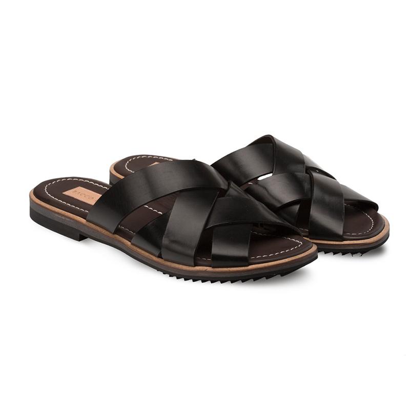 Bacco Bucci Giallini Clafskin Sandal Black Image