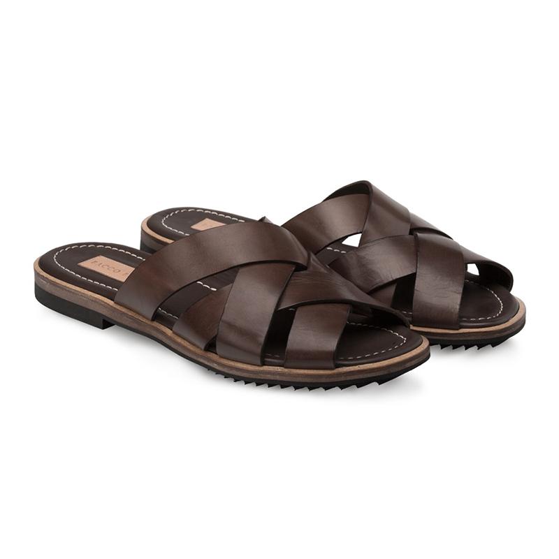 Bacco Bucci Giallini Clafskin Sandal Brown Image