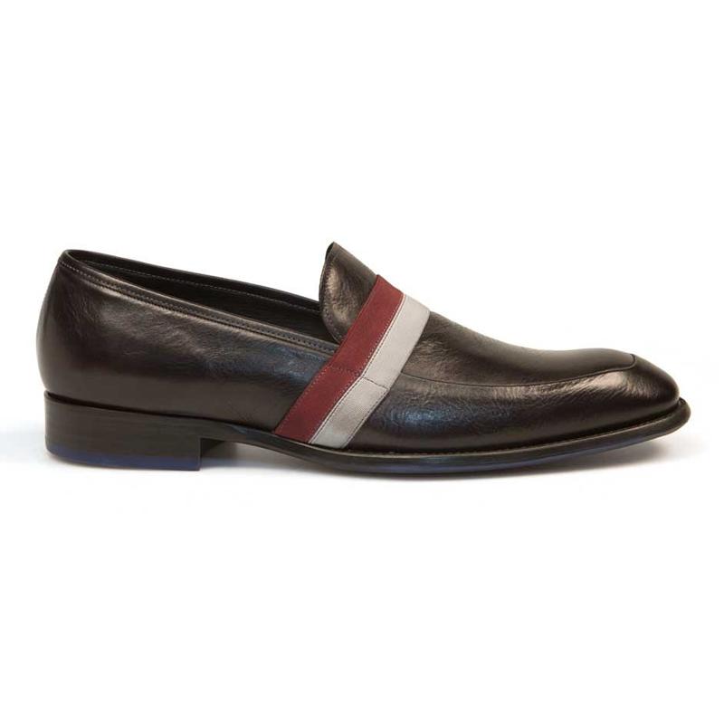 Bacco Bucci Gigi Calfskin Shoes Black Image