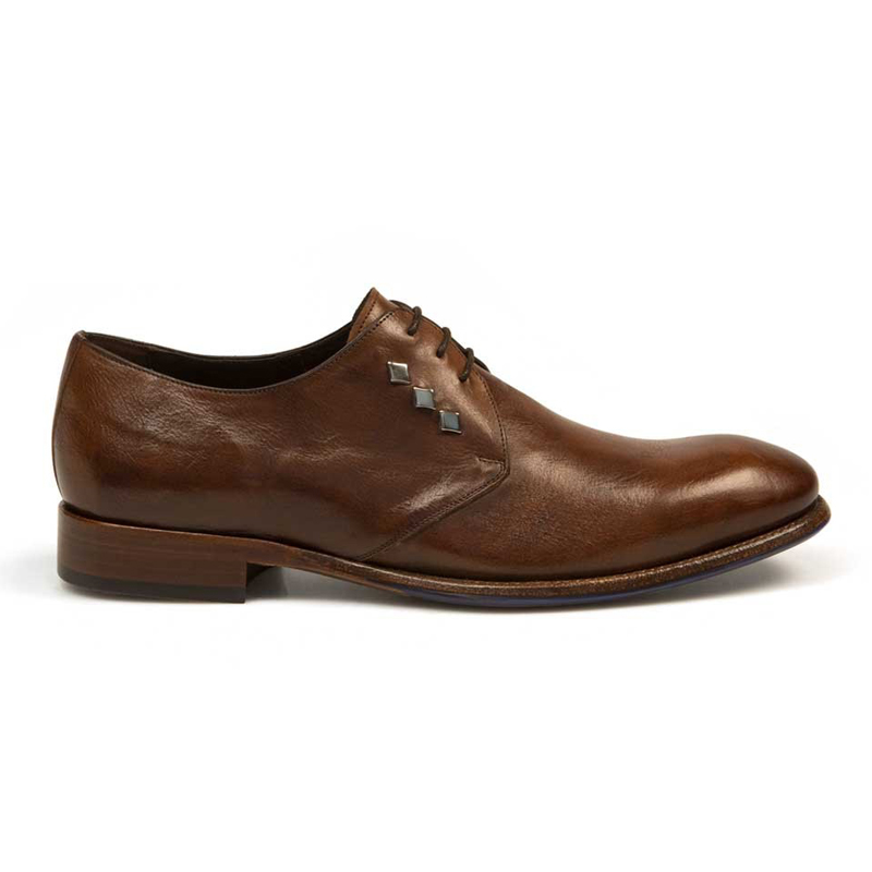 Bacco Bucci Giulio Calfskin Shoes Brown Image