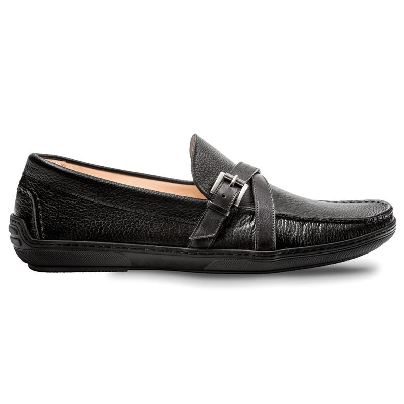 Bacco Bucci Korver Calfskin Shoe Black Image