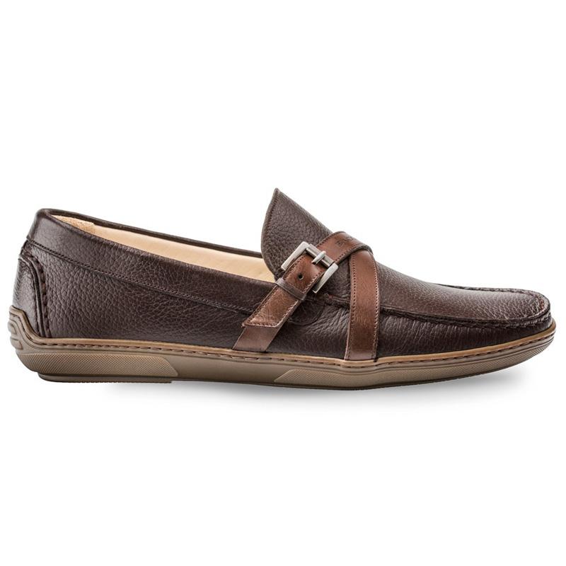 Bacco Bucci Korver Calfskin Shoe Dark Brown Image