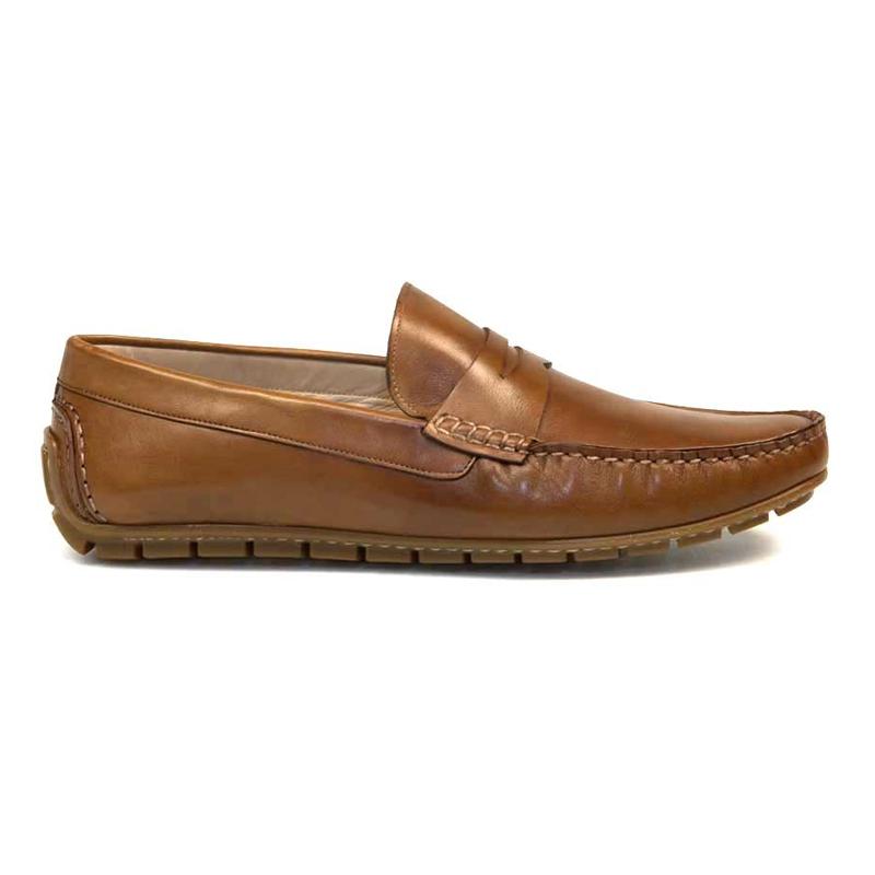 Bacco Bucci Palop Calfskin Loafers Cognac Image