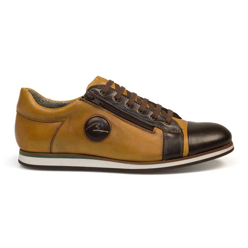 Bacco Bucci Ribery Sneakers Dark Brown / Camel Image