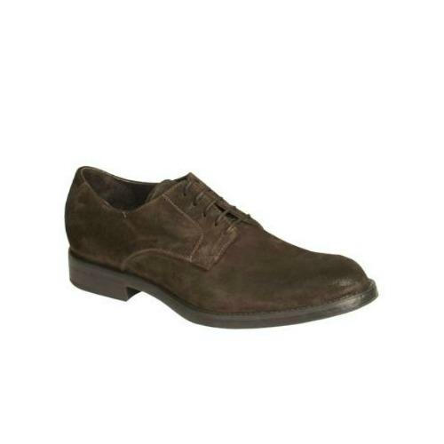 Bacco Bucci Tabone II Derby Shoes Dark Brown Image