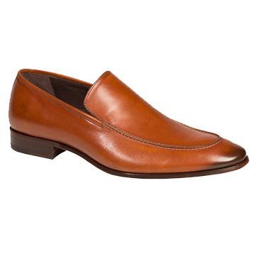 Bacco Bucci Tamaris Calfskin Loafers Tan Image