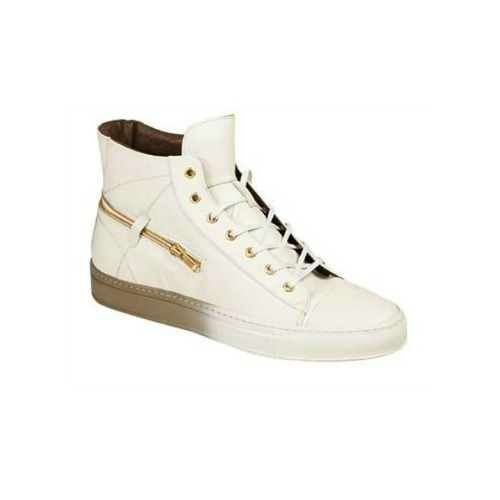 Bacco Bucci Teo High Top Sneakers White Image